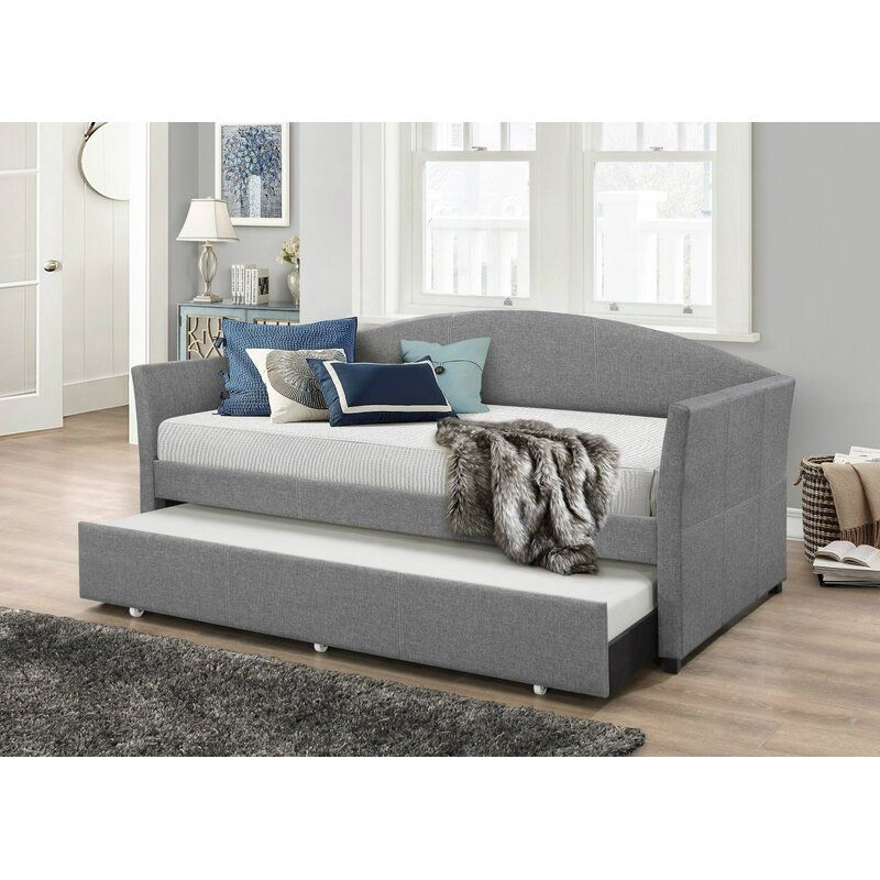 Eleni Twin Daybed With Trundle Daybed With Trundle Twin Daybed With Trundle Furniture Daybed with trundle with mattress