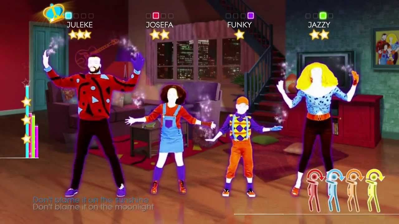 Just Dance 2014 Wii U Gameplay Mick Jackson Blame It On The Boogie Youtube Just Dance 2014 Just Dance The Boogie