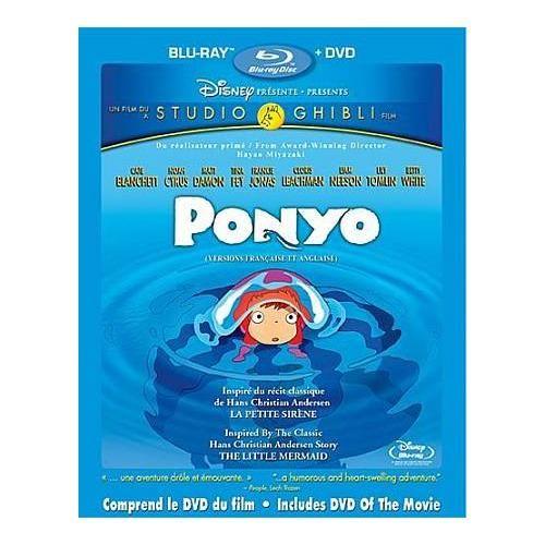 Ponyo (Bilingual) (Blu-ray Combo) (2008)