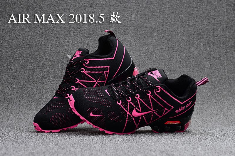 4fb7279668ed66 Best Sell Nike Air Ultra Max 2018. 5 Shox Pink Black Women s Casual Trainers  Running Shoes