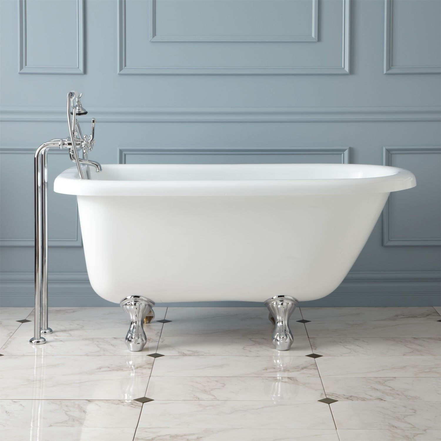 57 97995 bennington acrylic clawfoot tub bathroom - Acrylic Clawfoot Tub