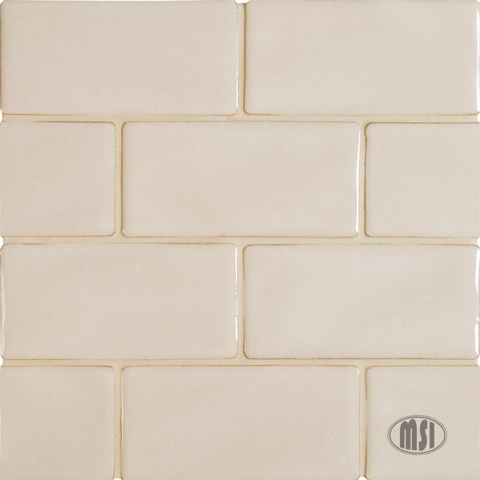 3x6 Handcrafted Tiles Antique White Handcrafted Tile Antique White Antiques