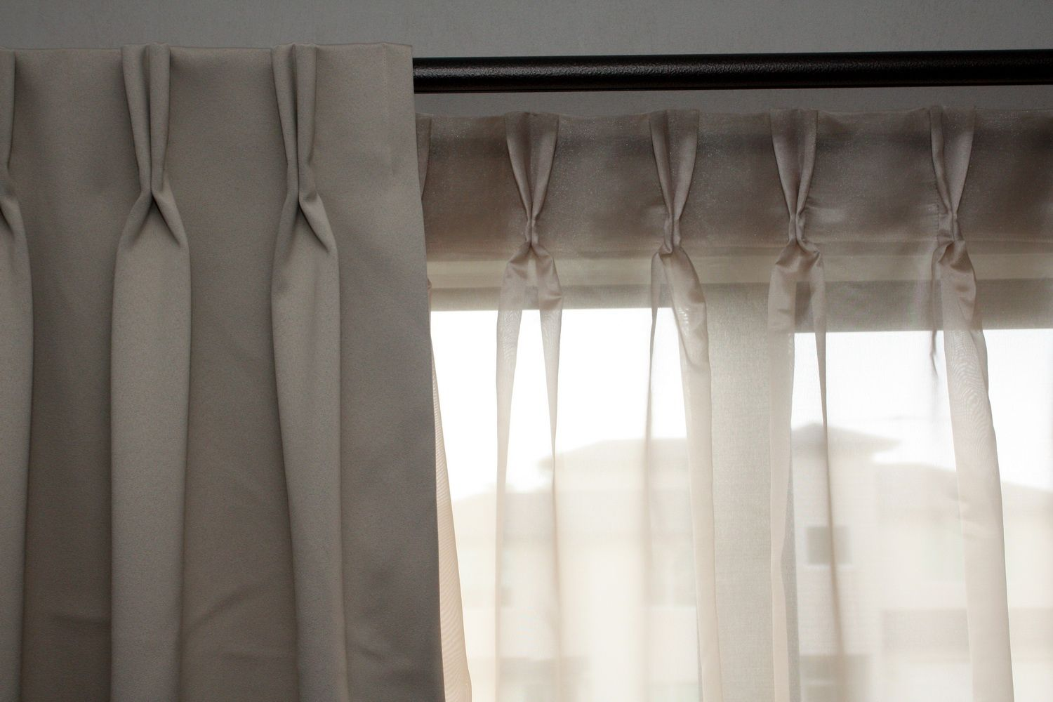 Drapes With Hidden Rod Google Search Double Rod