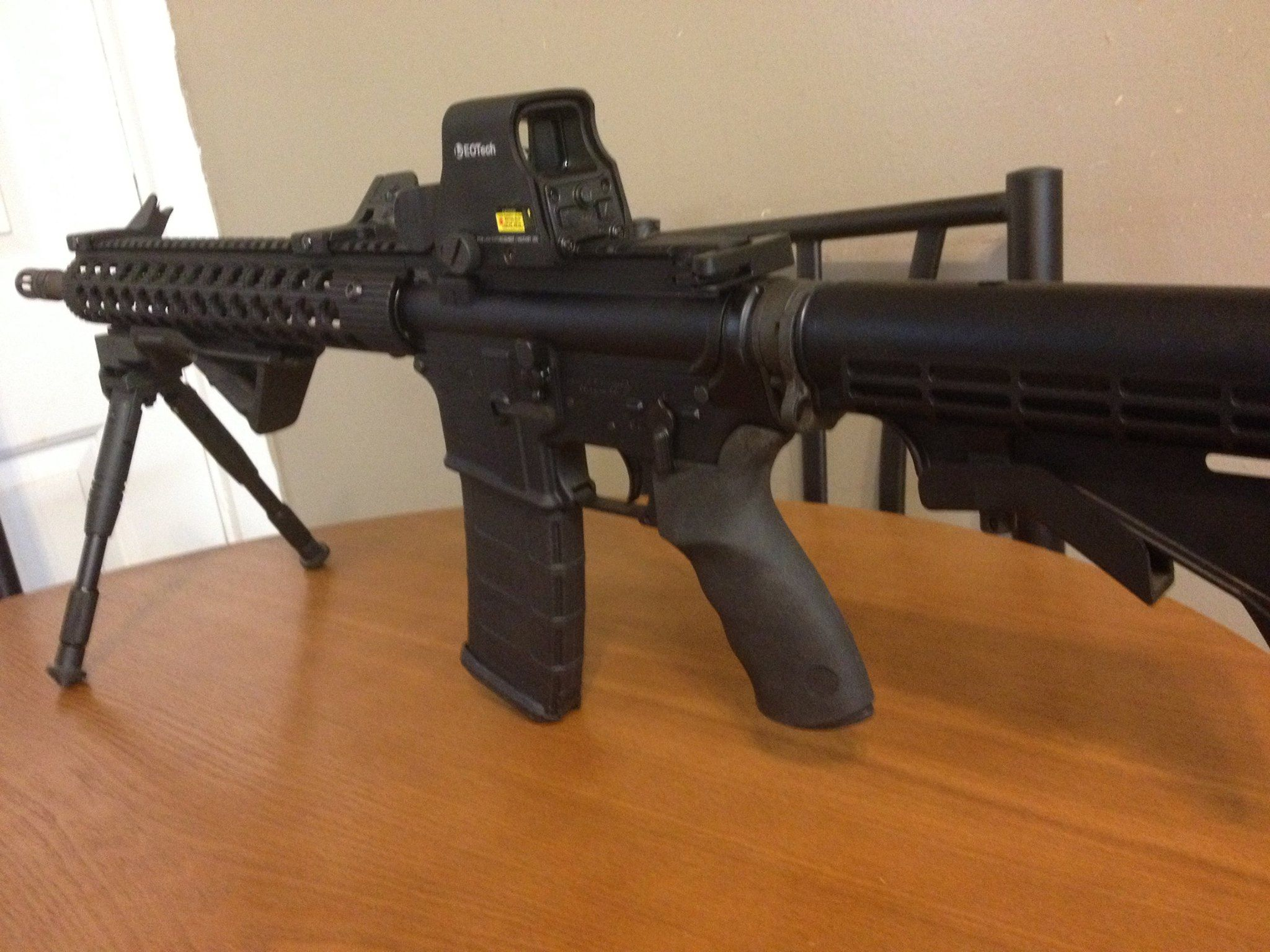 Customer's PA-15 with EOTech holographic sight! #PalmettoStateArmory #EOTech #AR15
