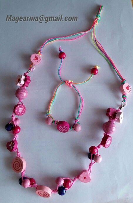 6094f159 bisuteria para niña - Buscar con Google   Niñas   Collares para ...