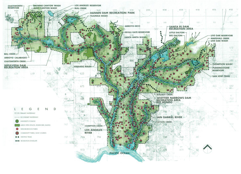 Best LA River Images On Pinterest - Los angeles river kayak map