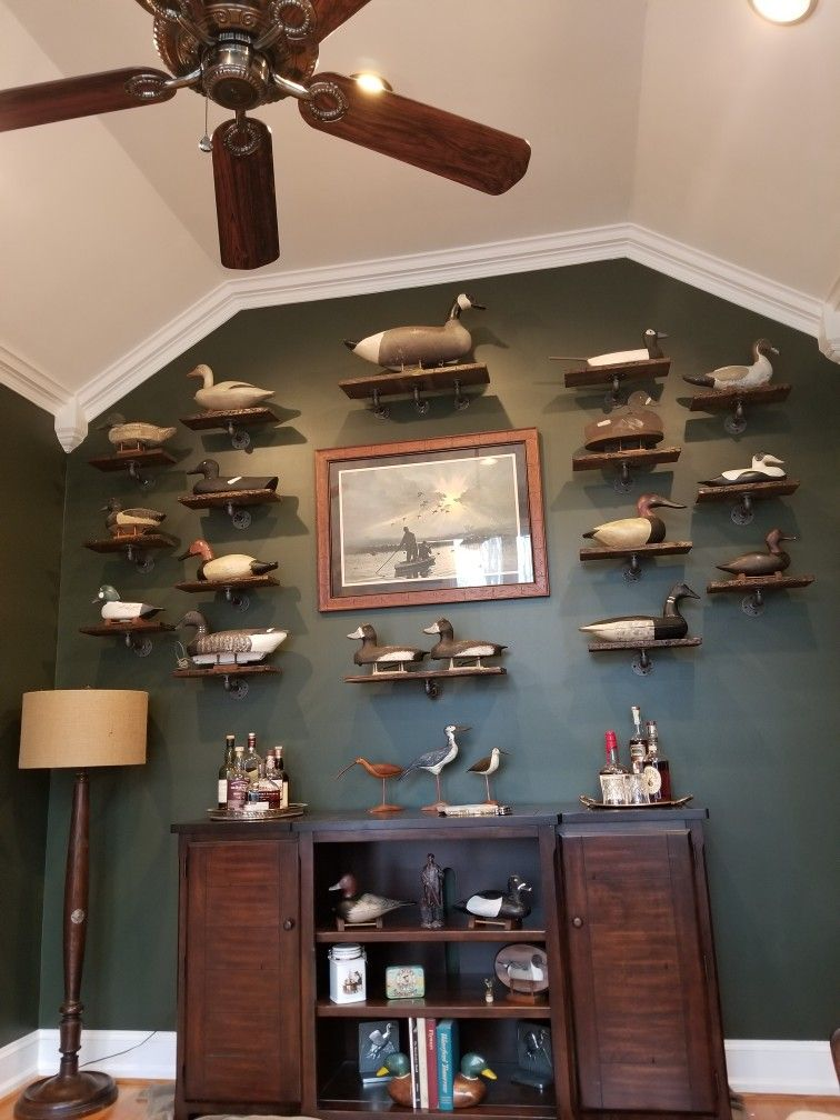 Our New Look Bourbon Room Man Cave Room Duck Hunting Decor Duck Decor