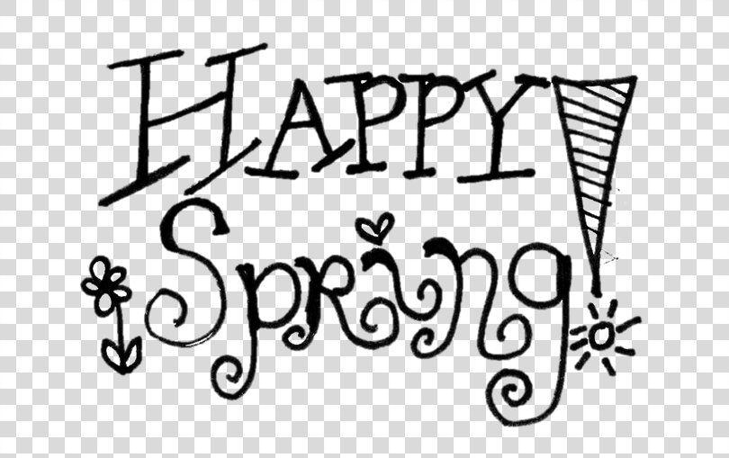 Spring Clip Art - Word Spring Clip Art - Free Transparent PNG Clipart  Images Download