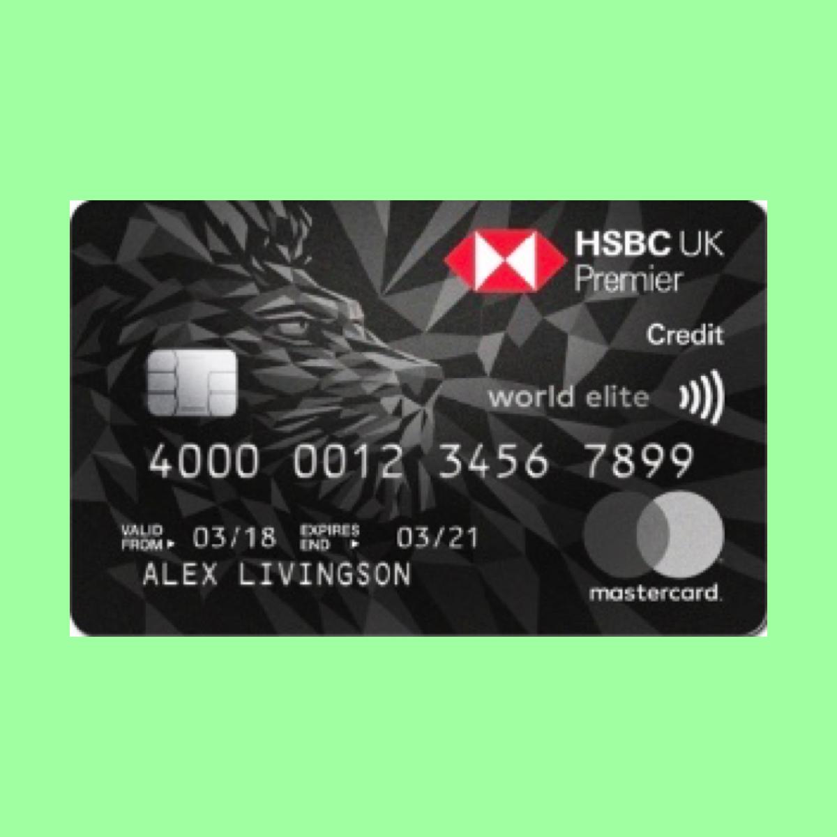 Hsbc Premier World Elite Mastercard The Point Calculator Credit Card Design Hsbc Mastercard