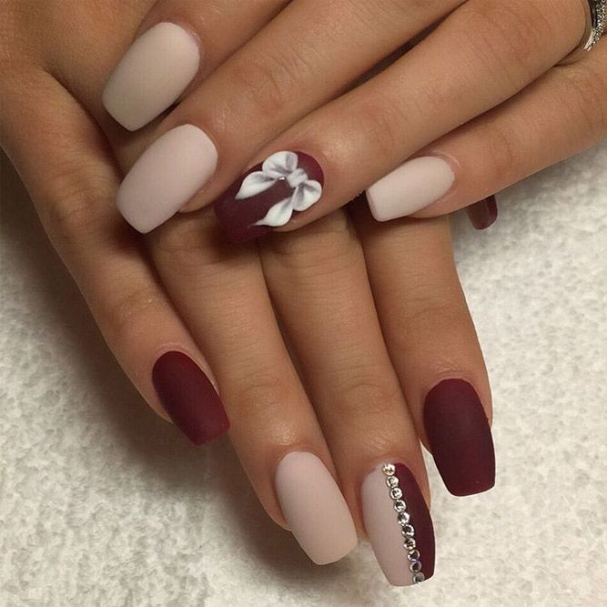 Best Matte Nails That You Will Love ☆ See more: http://glaminati.com/best- matte-nails/ - 39 Elegant Looks For Matte Nails Every Girl Will Want To Copy