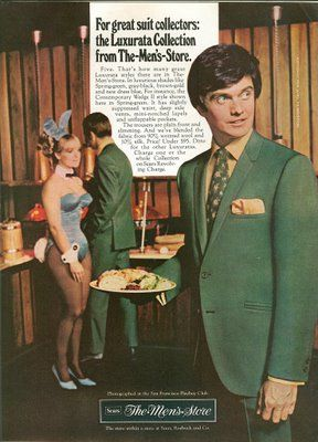 1969 sears ad with playboy bunny....