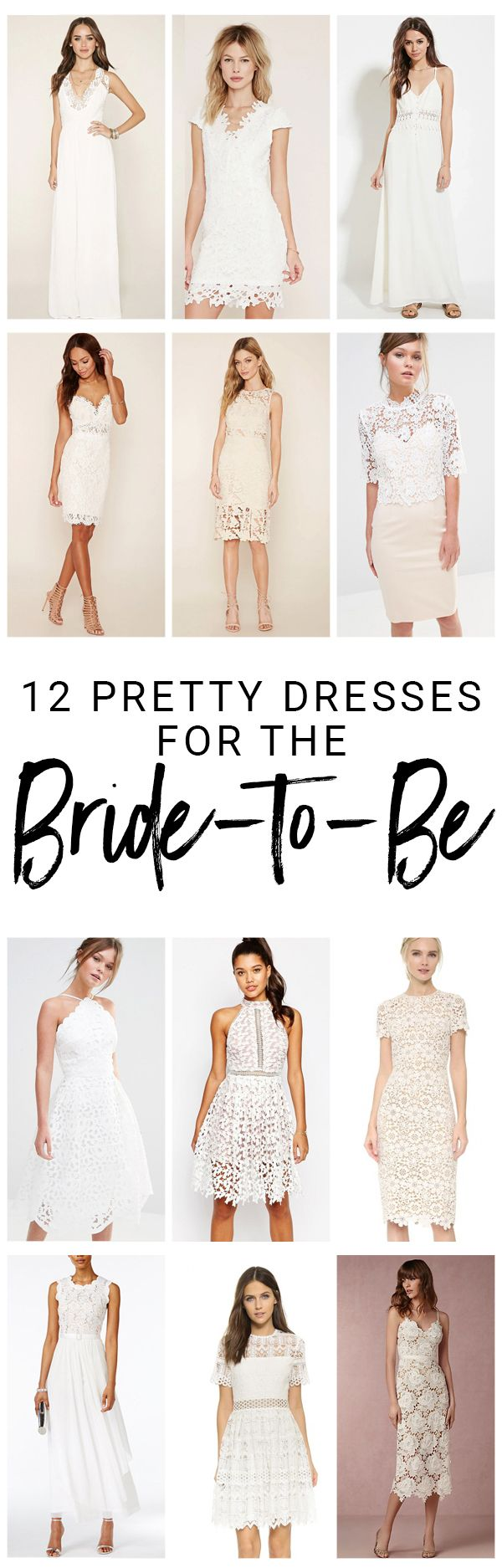 Dresses for Brides-to-Be - Thyme Is Honey