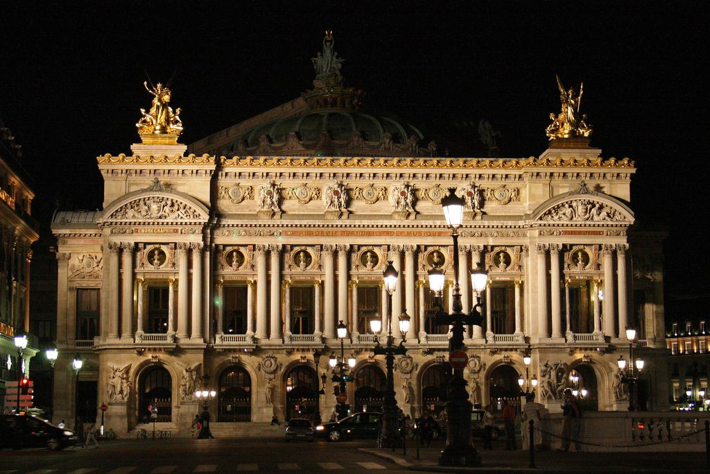 Opera Garnier (Paris - France) I lived next door to this a while.