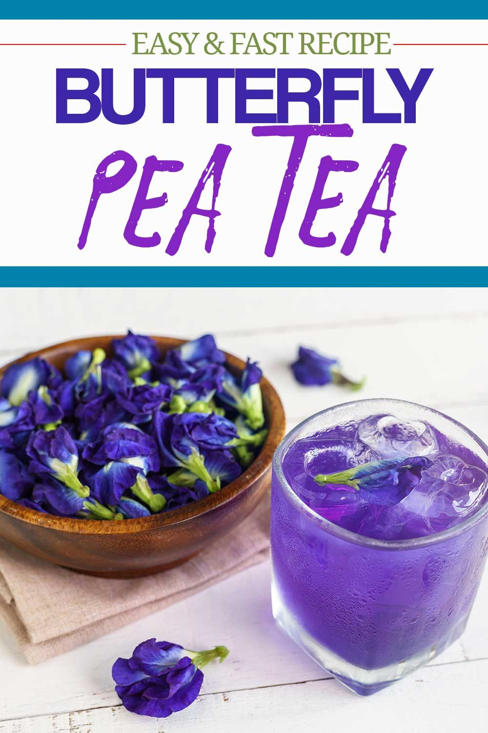 How to Make Butterfly Pea Tea. Recipe in 2020