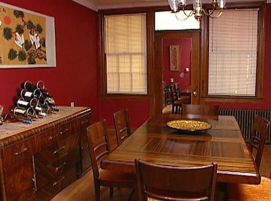 Dining Room Color Schemes Tips And Collection Dreadful Red Walls Mesmerizing Dining Room Color Schemes Inspiration