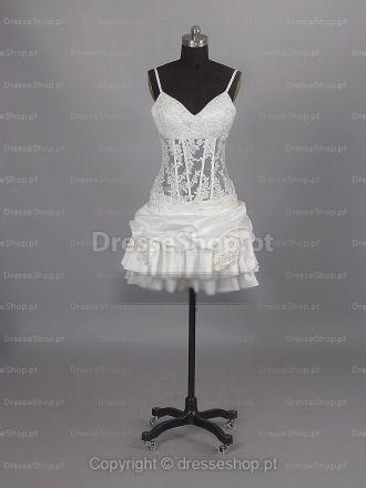 Michaelia-Vestido de Noiva em tafetá