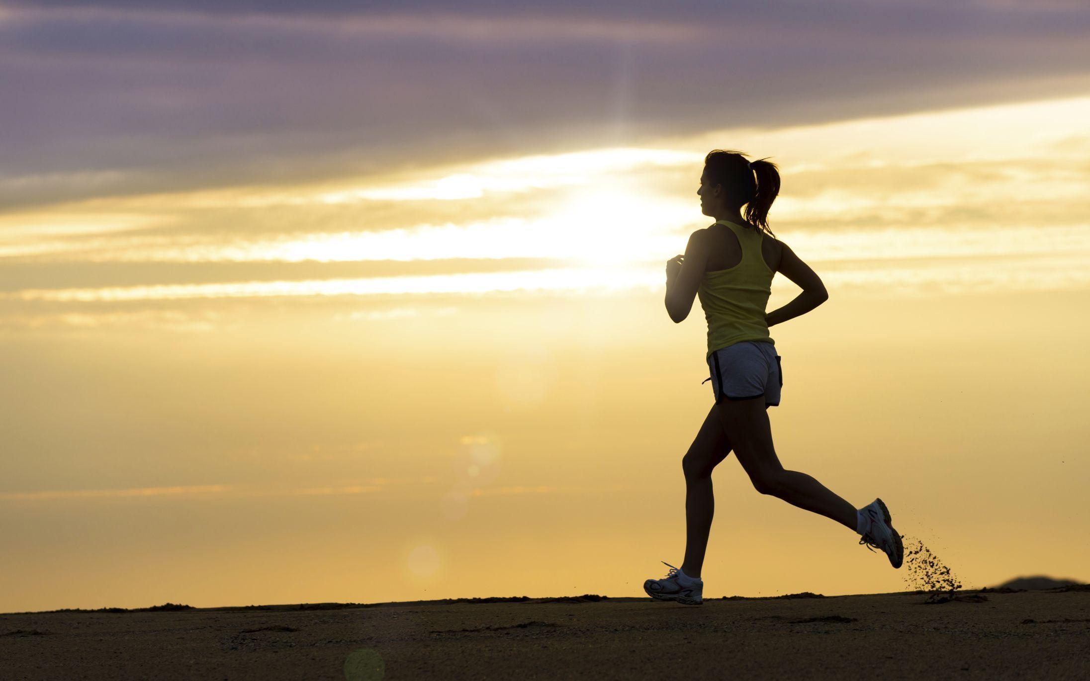 bajar de peso haciendo running
