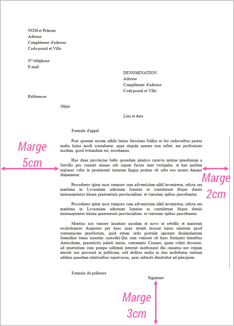 image modele de lettre de reclamation pour non paiement lettre de presentation