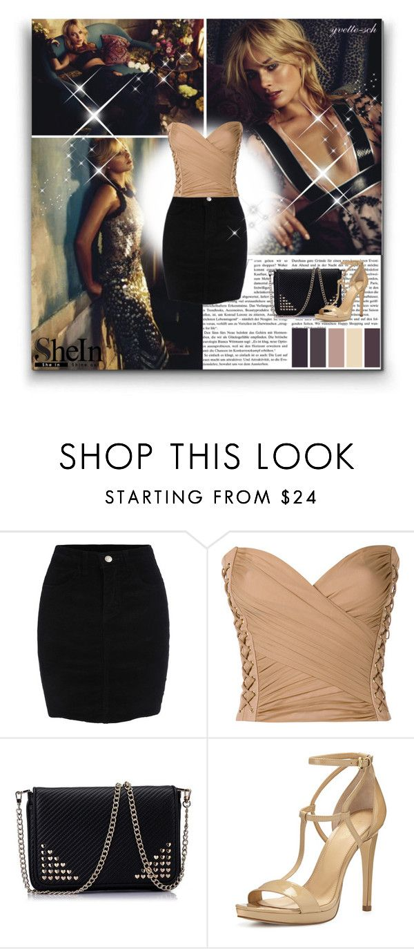 """""""Margot Robbie"""" by yvette-sch ❤ liked on Polyvore featuring Balmain and MICHAEL Michael Kors"""