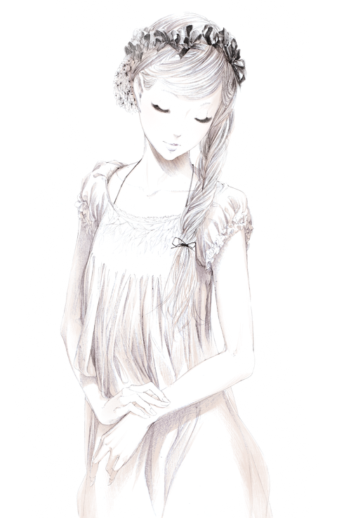Black White Beauty Anime Drawings Anime Art Drawings