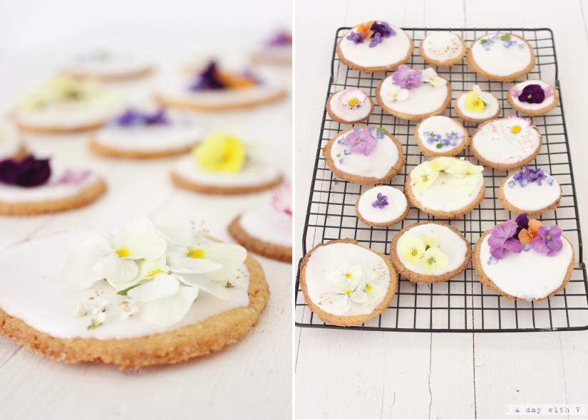 A day with V: Un biscotto fa primavera // Sprintime cookies