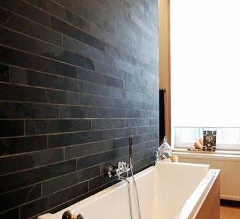 Love These Slate Bathroom Tiles Reminds Me Of The Westin Times Sq