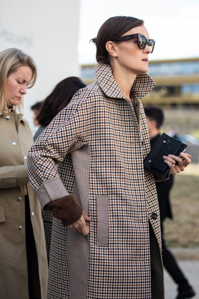 Street style à la Fashion Week printemps été 2019 de Paris