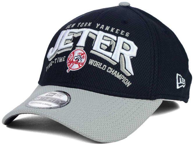 60be622d6f4 New York Yankees New Era MLB Derek Jeter Retirement Diamond Era 39THIRTY Cap  Hats