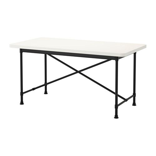 Cleaning Black Kitchen Table: IKEA RYDEBÄCK Table White/karpalund Black 150x78 Cm The