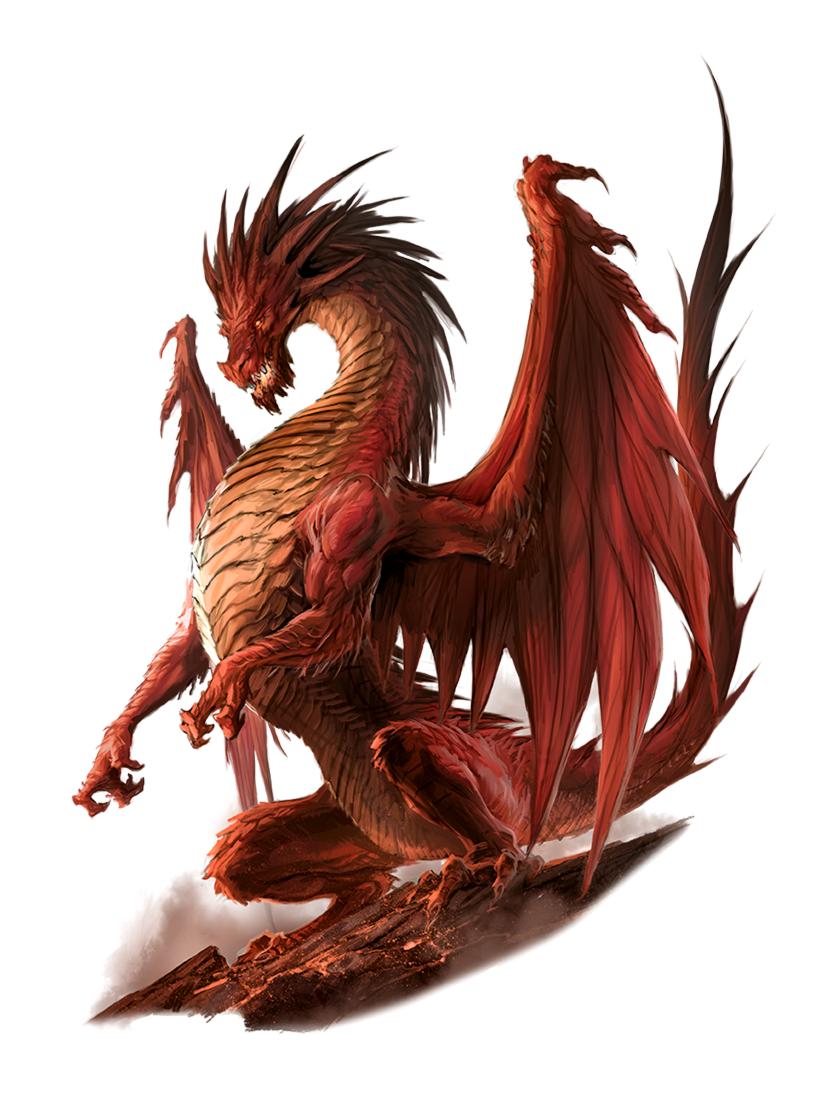 Dnd Red Dragon: Pathfinder 2E PFRPG DND D&D 3.5