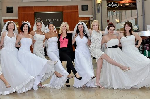 Get Free Wedding Dresses For Military Brides First Responders Across America Holds Its Gown Giveaways Twice A Year In Partners
