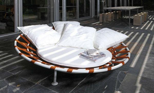 Moderne Garten Loungemöbel von berühmten Designern - | Dekoration ...