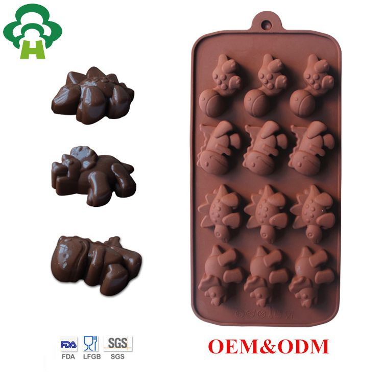 Silicone Flower Shaped Chocolate Lollipop Bake Ware Mould Spring Garden Nature