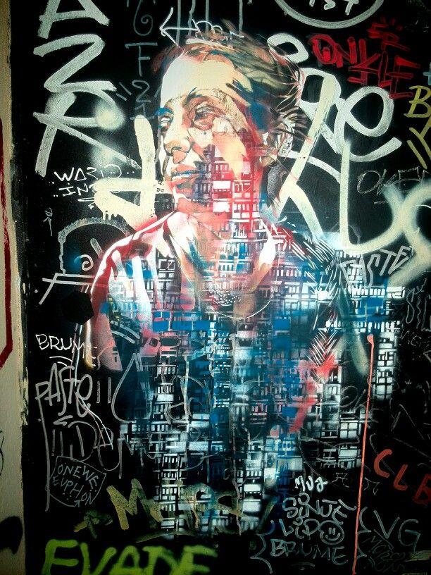 MVA - street art - Marseille 6, rue pastoret (aout 2014)