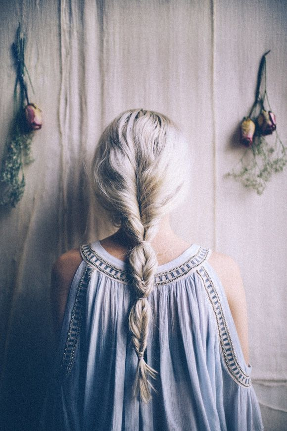 Easy Hair Trick: How to Fake A Fishtail Braid