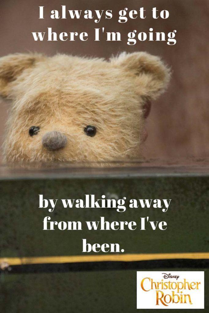 Citaten Over Wijsheid : Winnie the pooh poster quote christopher robin premiere