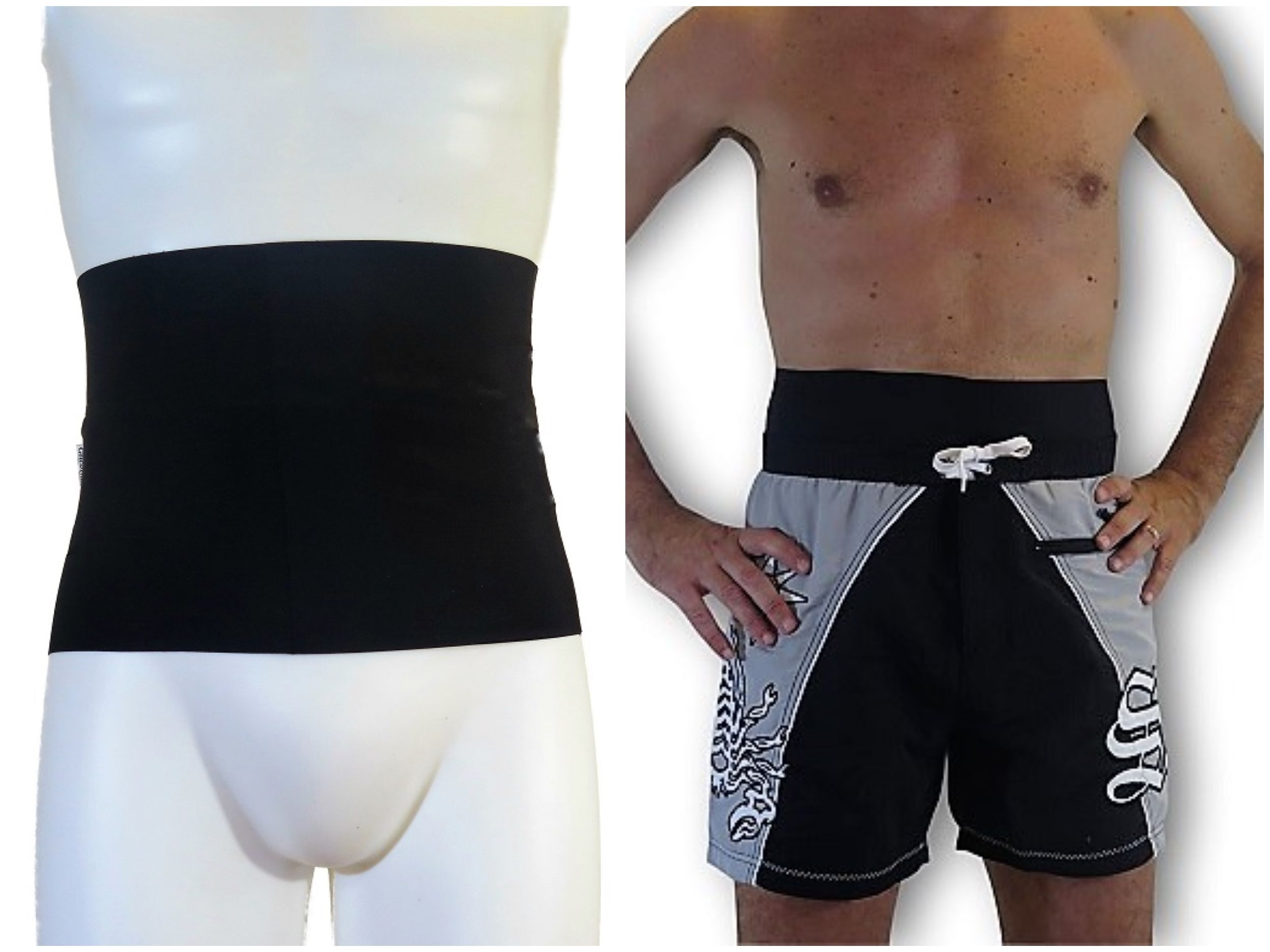 044389a55bb22 This wrap is the best solution to protect and make your ostomy bag discreet  when you are at the sea or in the pool.