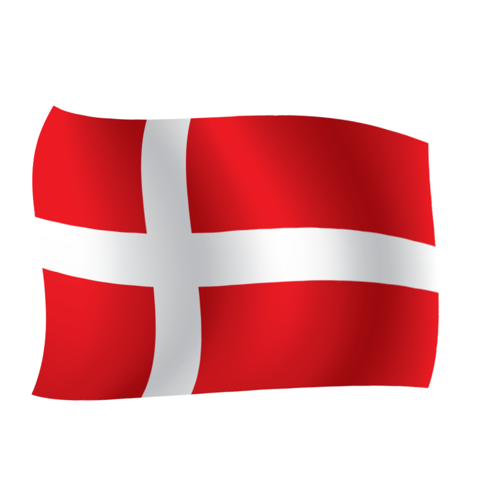 Free download high quality denmark vector flag png image
