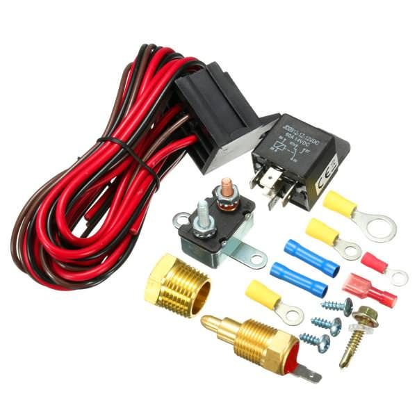 210195 Degree Engine Cooling Fan Thermostat Temperature Switch