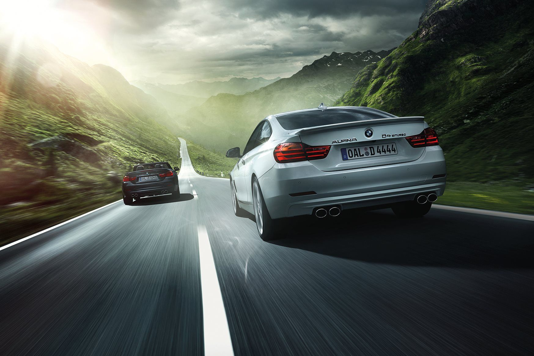 Alpina D4 Convertible And Coupe With Twin Turbo Diesel From 58 600 Euros Bmw Alpina Alpina Car Wallpapers