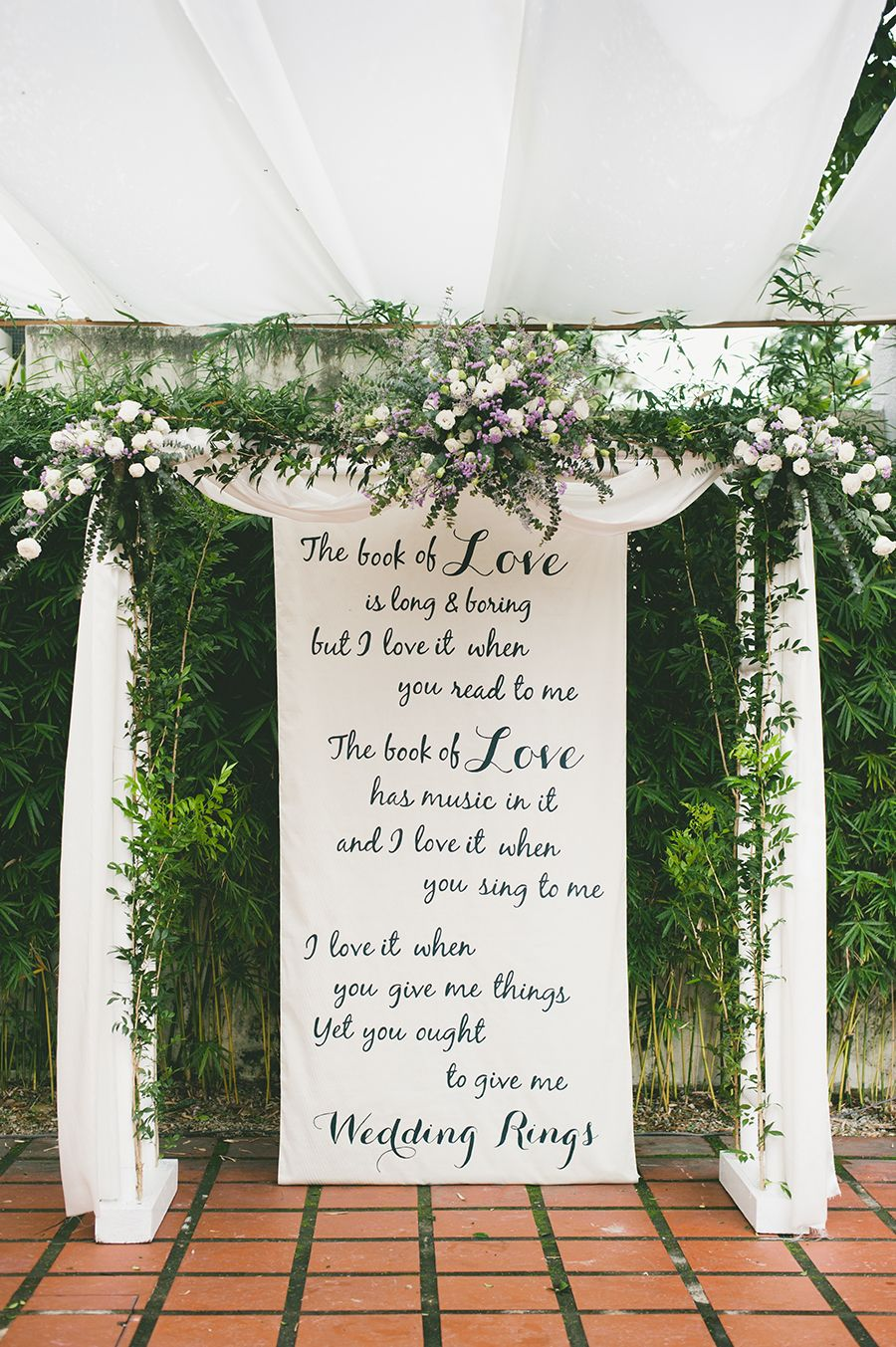 Tze yip and kai hsinus lovely diy backyard wedding in wedding