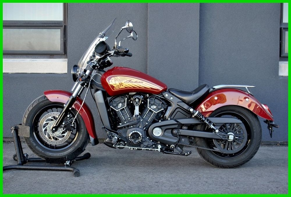 2017 Indian Scout Sixty Abs Used Ebay Link