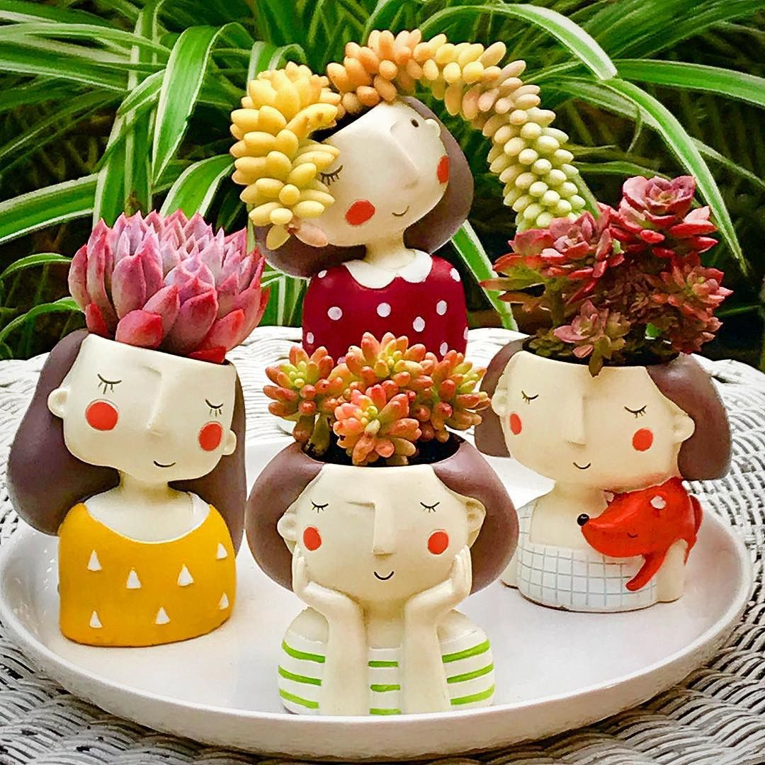 Petites Plantes Fleuries En Pot 55 easy diy succulents mini garden ideas | idées de poterie