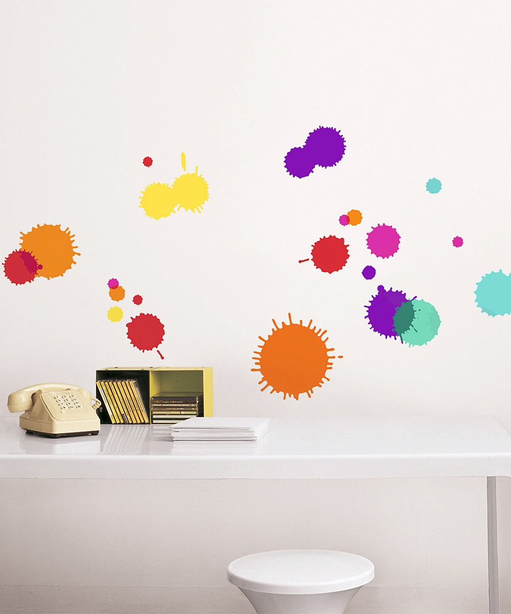 Love This Ink Blot Wall Decal Set By Nouvelles Images On Zulily