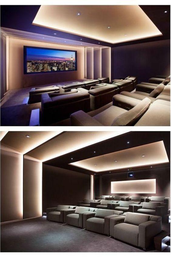Photo of Heimkino-Design HOME Manchester Cineak Innenarchitektur Decke