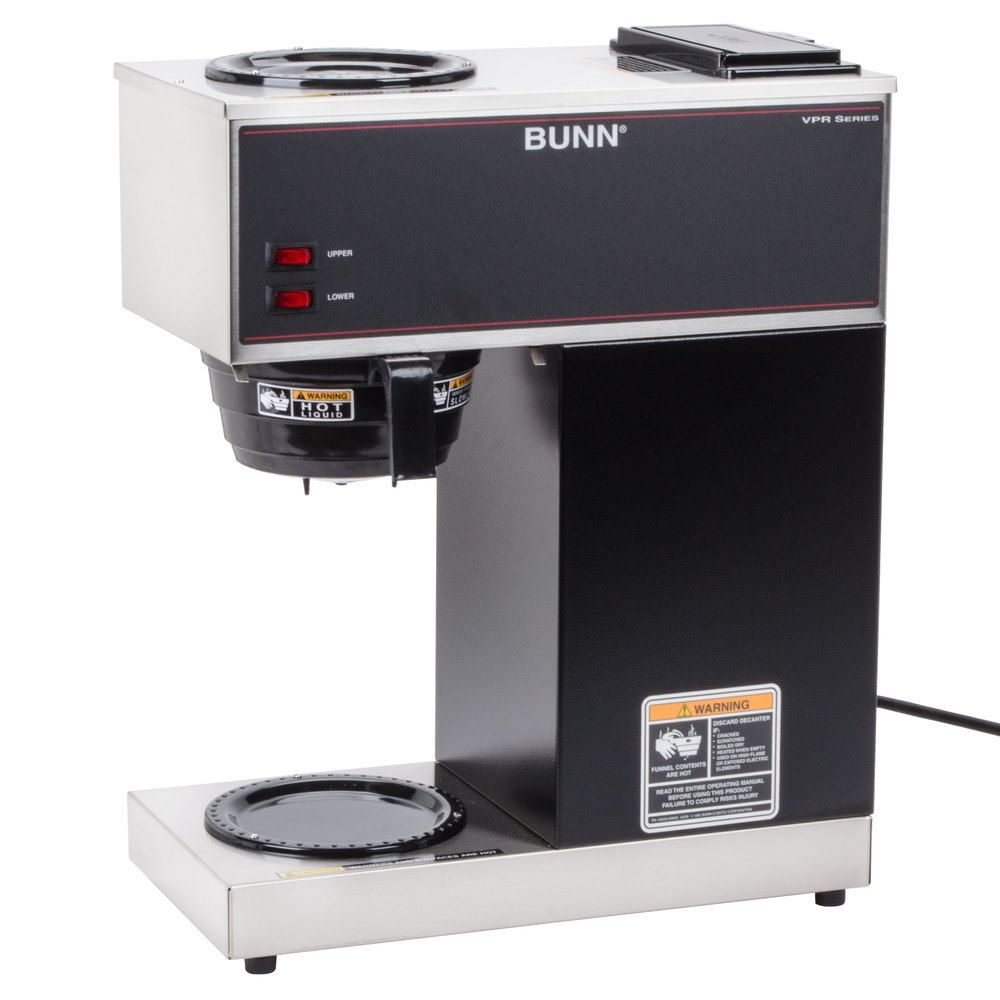 Bunn 33200.0000 VPR 12 Cup Pourover Coffee Brewer with 2