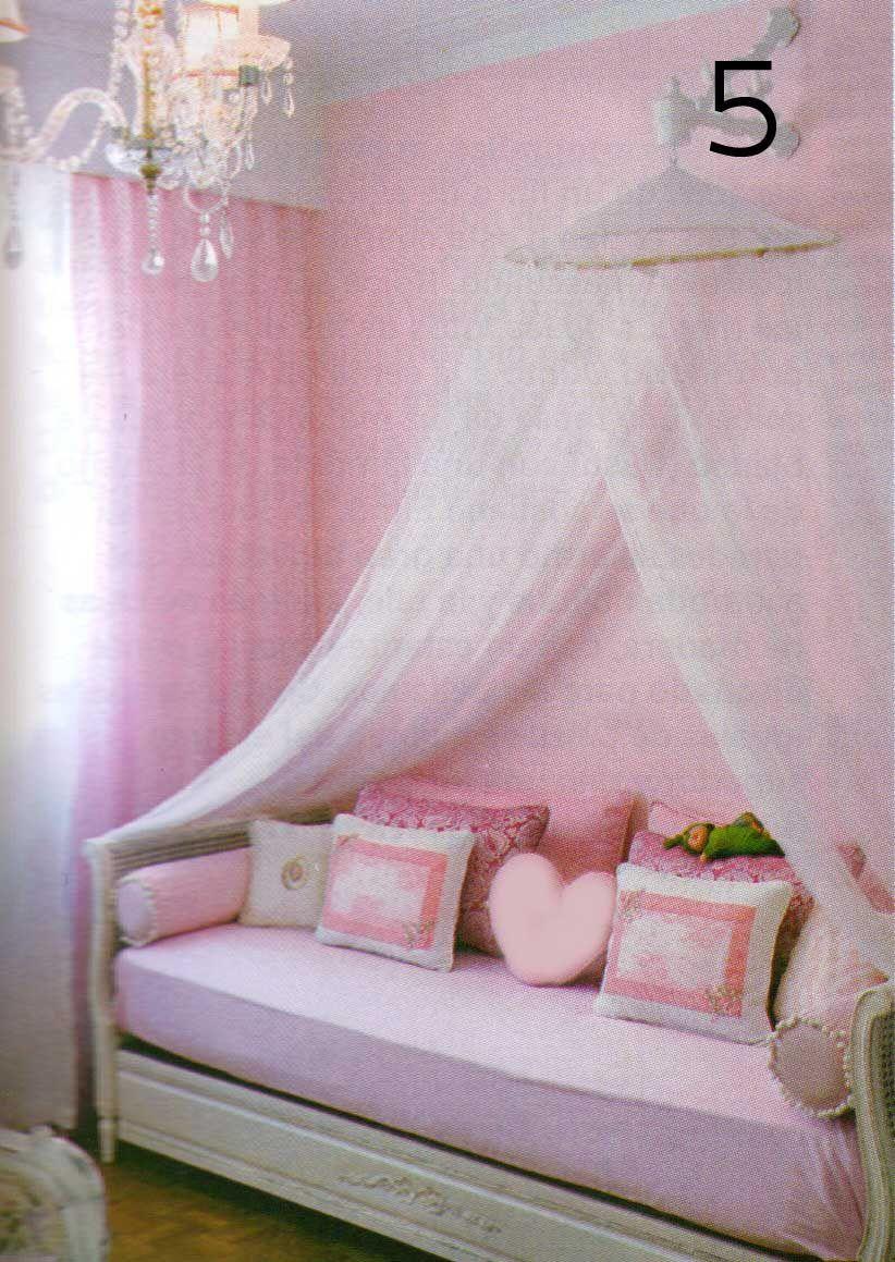Como hacer dosel de tul para cama buscar con google hijos pinterest cuartos cuarto de - Dosel para cama nina ...