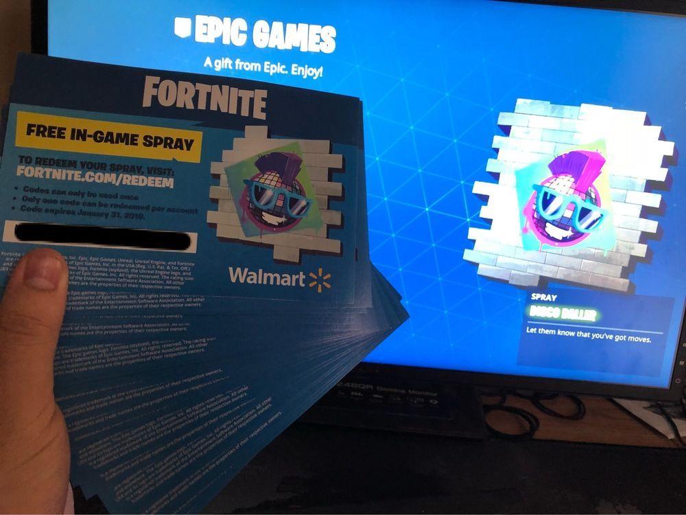 Walmart Exclusive Funko Fortnite In Game Spray