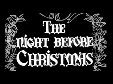 The Night Before Christmas 1946 Live Action Film Animation This Has The Orginal Name Of Donder New Live Action Film Youtube The Night Before Christmas
