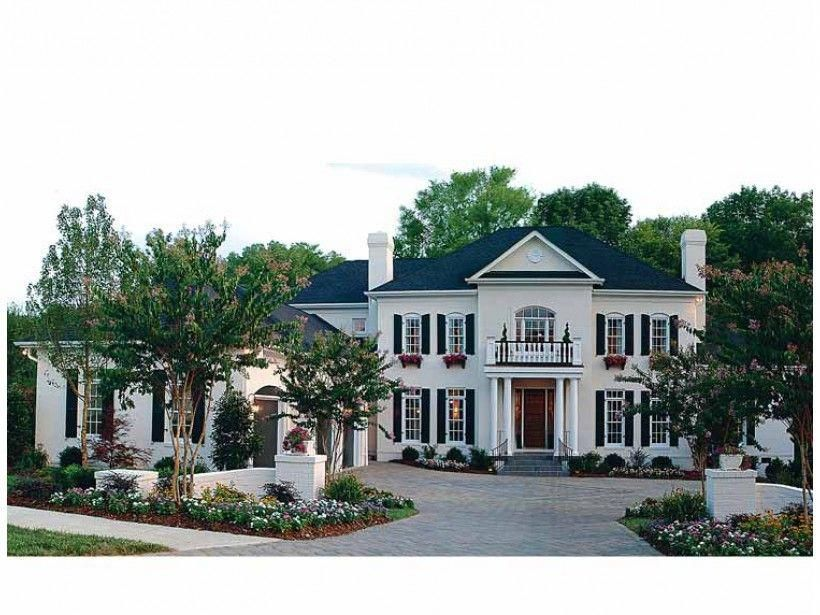 Dream Houses Pictures Dreamhouses In 2020 With Images Colonial House Plans House Plans Mansion Colonial House